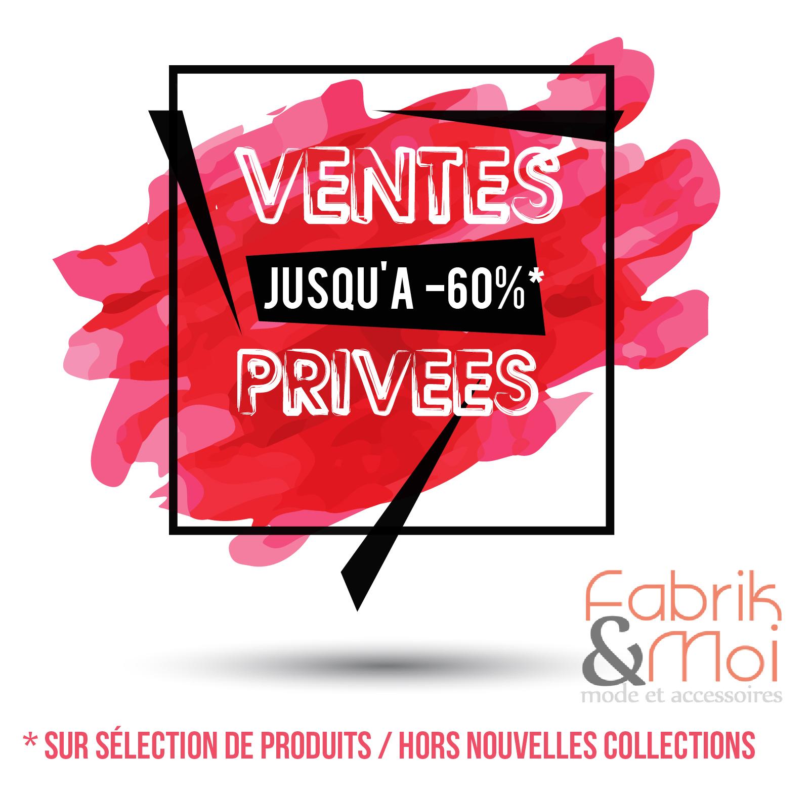 Ventes Privées / Soldes Eté ! post thumbnail image