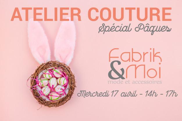 17 avril | Atelier couture «Pâques» post thumbnail image