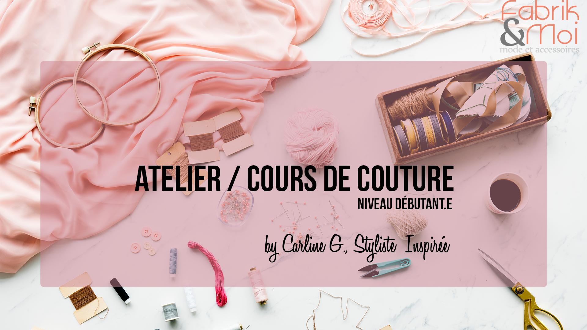 27 avril | Atelier couture / Débutants post thumbnail image